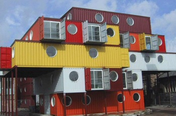 Metal Container Homes container city - famous buildings and architecture of london